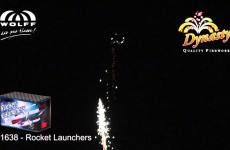 1638  Rocket Launchers – Dynasty Vuurwerk – Vuurwerkland