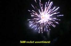 5600 Rocket assortiment large – PRO-LINE – Bestelvuurwerk.nl
