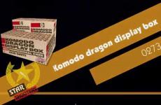 Komodo Dragon display box – Star Shooters – Lesli Vuurwerk