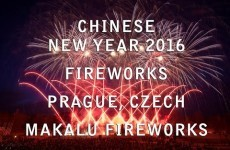 Chinese New Year 2016 – Prague, Czech – Makalu Fireworks – Ohňostroje
