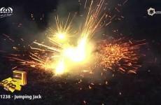 Wolff Vuurwerk: 1238 Jumping Jack