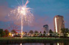 Kermis Vuurwerk in Voorburg