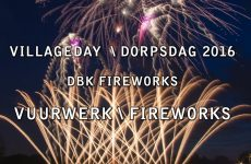 's-Gravenwezel – Villageday  2016 – DBK Fireworks – Vuurwerk – Feuerwerk – Feu Artifice
