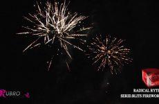 545 RADICAL RYTHM – BLITS FIREWORKS – Rubro Vuurwerk