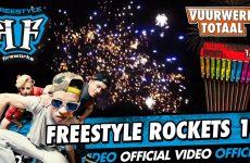 Freestyle Rockets 10 – Freestyle Fireworks vuurwerk – Vuurwerktotaal [OFFICIAL VIDEO]