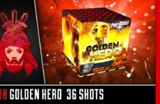 1710 Golden Hero – Geisha – Vuurwerkmania