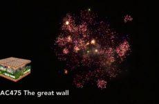AC475 The great wall – Lesli Vuurwerk / Verkoopvuurwerk.nl