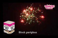 BH120 Binck partybox – Lesli Vuurwerk / Binck Vuurwerk